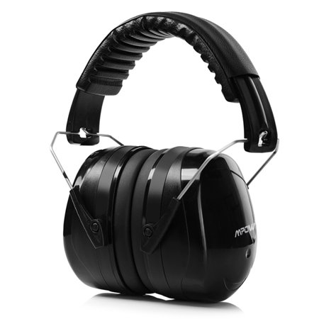 Scandinavian Shooting Head (Mpow Electronic Shooting Earmuffs Hearing Protection Folding-Padded Head Band Ear Cups with Soft Foam Fits Adults and)