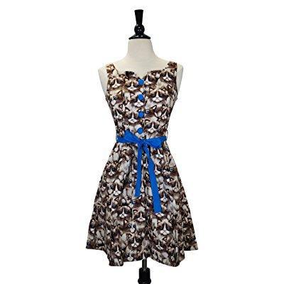 retrolicious grumpy kitty dress (1x, multi)
