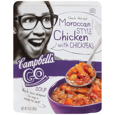 Campbell's Go Moroccan Style Chicken Soup with Chickpeas ...