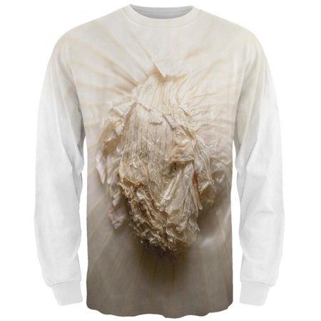 M&s Halloween Sweets (Halloween White Onion Costume All Over Mens Long Sleeve T)