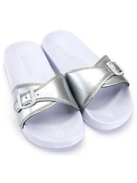 9431ccf51 Product Image Mio Marino Adjustable Women Slides - Beach Sandals for Women  - House Slippers