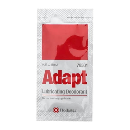 - Hollister Adapt Appliance Lubricant - 78501BX - 0.27 oz (8 mL) packet , 50 Each / Box