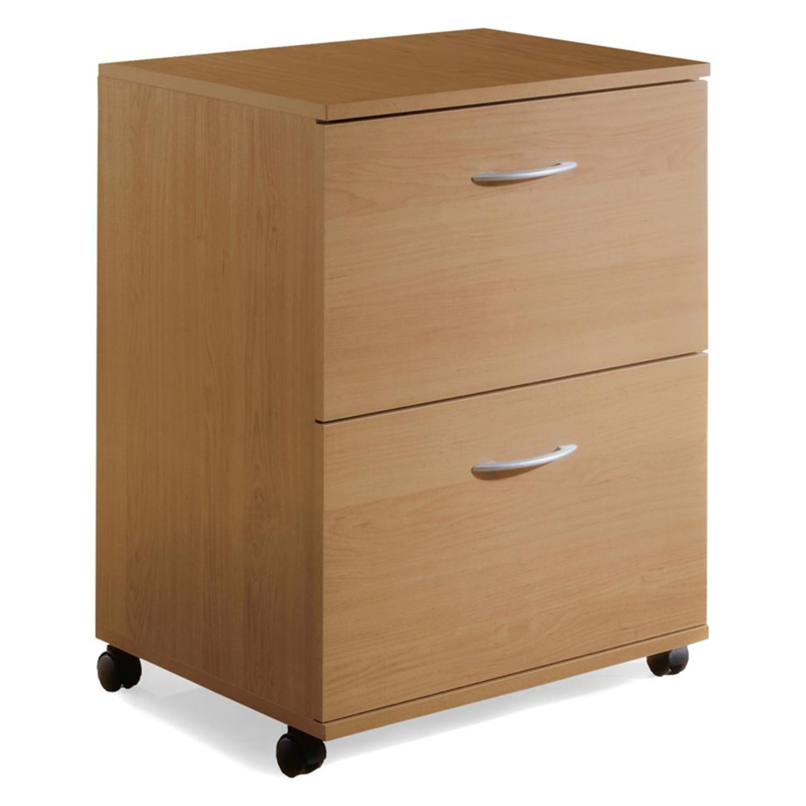 2 Drawers Vertical Wood Composite Filing Cabinet
