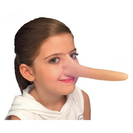 Pinocchio Long Nose (Puppet Pinocchio Boy Long Nose Mask Child Adult Costume Accessory)
