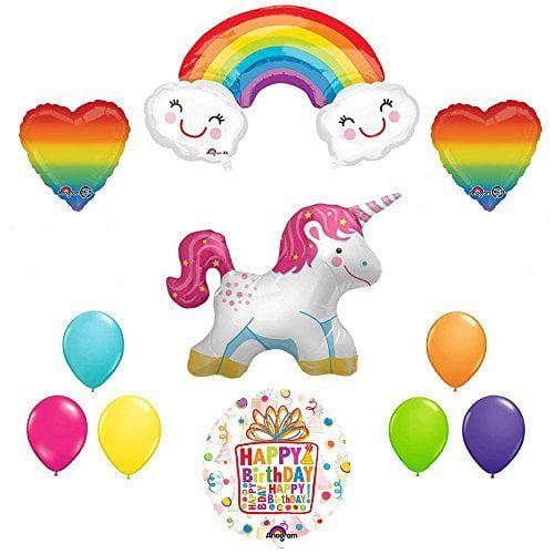 The Ultimate Rainbow Hearts Full Body Unicorn Birthday Party