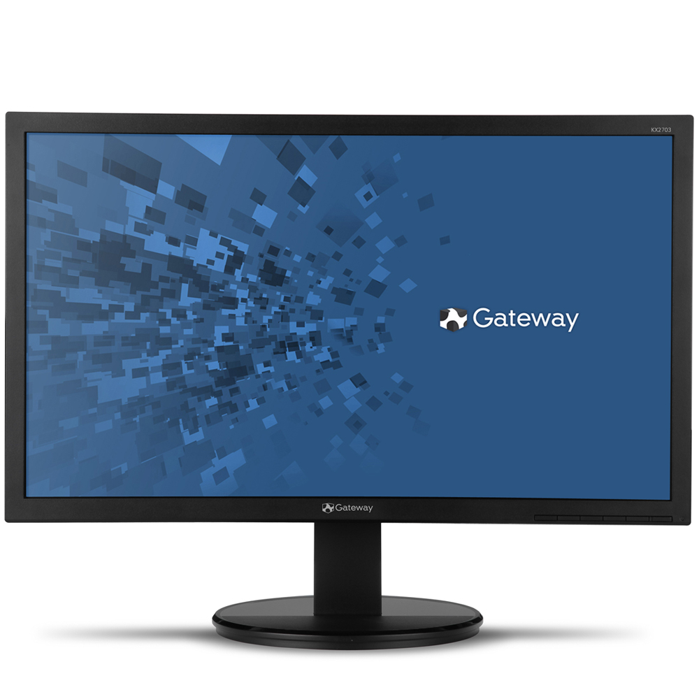 "Refurbished - Gateway KX1953B 19.5"" LED-backlit Monitor 1600x900 VGA VESA mounting compliant"