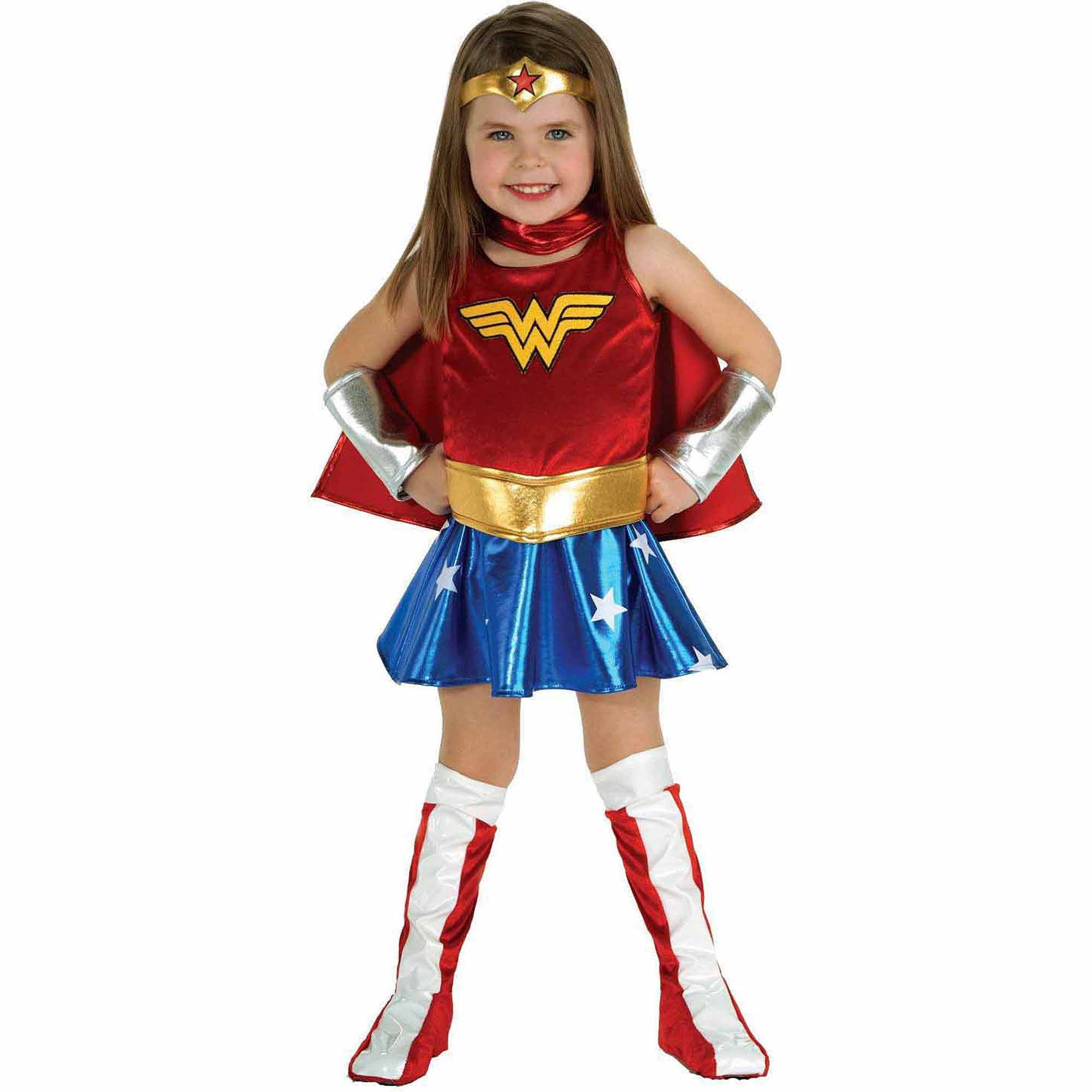 Wonder Woman Toddler Size 3T-4T Halloween Costume Kids -1327