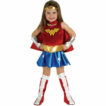 Wonder Woman Toddler Halloween Costume, Size 3T-4T for $<!---->