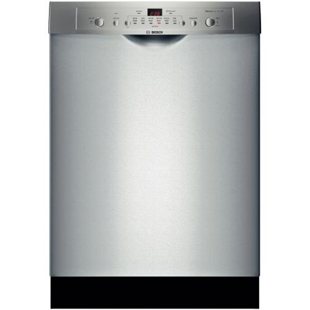 Bosch Ascenta SHE3AR75UC - Dishwasher - built-in - Niche - width: 24 in - depth: 24 in - height: 33.9 in - stainless steel