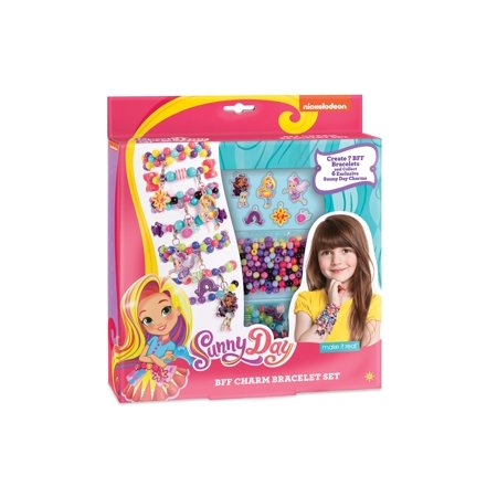 Sunny Day BFF Charms Bracelet Kit by Make It Real](Make Clay Charms)