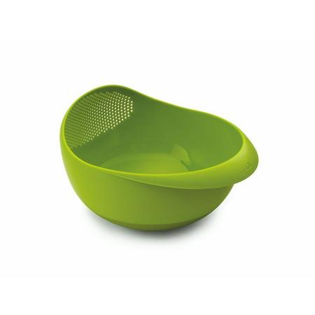 Integrated Bowl - Joseph Joseph Brand Prep & Serve Large Bowl With Integrated Colander Green