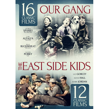 28 CLASSIC FILMS-EAST SIDE KIDS V01 W/BONUS OUR GANG (DVD) (4DVD SLIMLINE) (On The Other Side Of The Line)