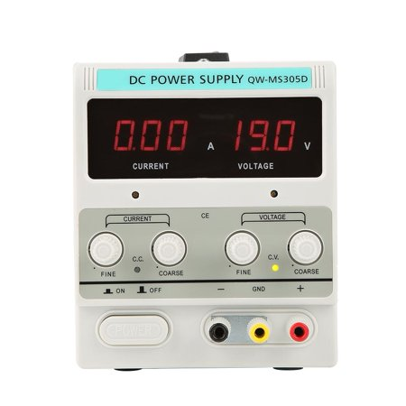 Anauto 30V 10A DC Power Supply, Adjustable DC Power Supply,30V 5A Variable Regulated Digital DC Power Supply Precision Adjustable US Plug 110V 10a Linear Power Supply