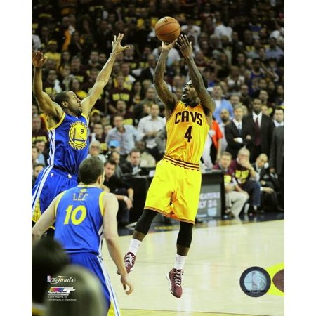 Iman Shumpert Game 4 of the 2015 NBA Finals Photo Print - Iman Shumpert Halloween