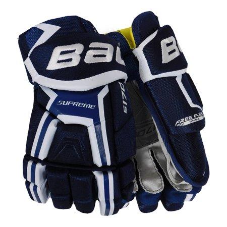 New Bauer Supreme S170 Hockey Glove Sr Navy White Gloves Senior 13 Com