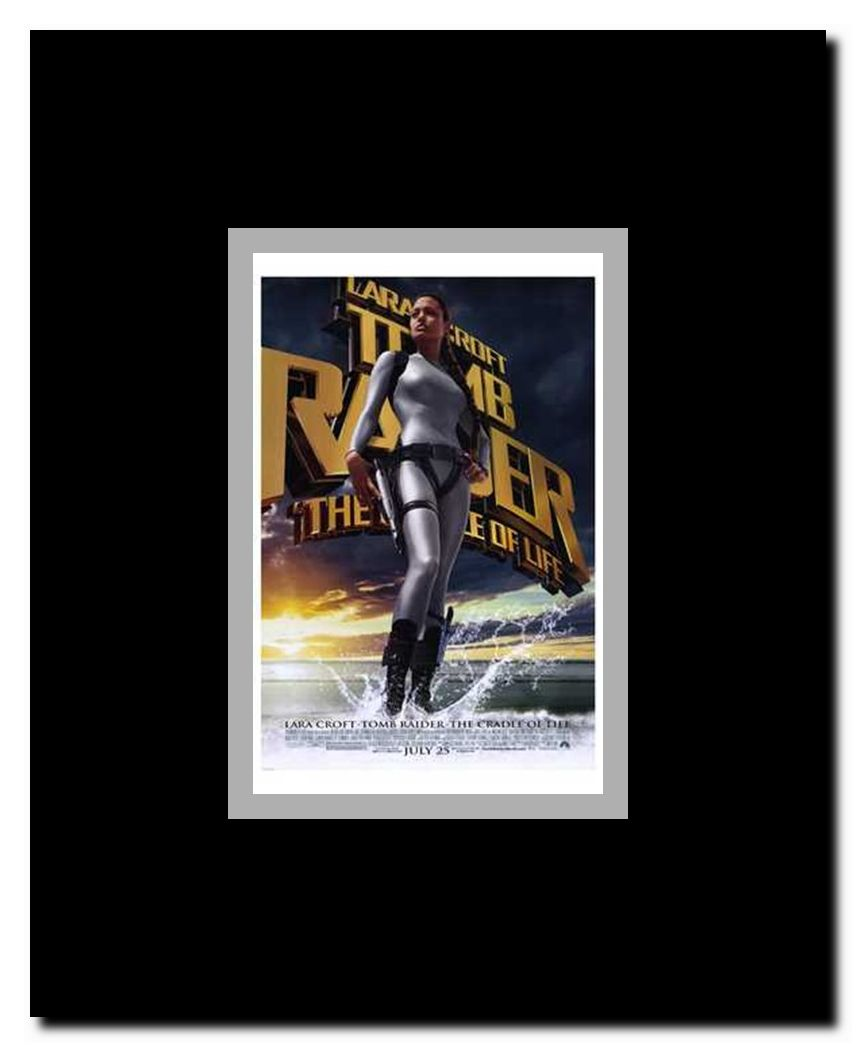 Lara Croft Tomb Raider The Cradle Of Life Framed Movie Poster