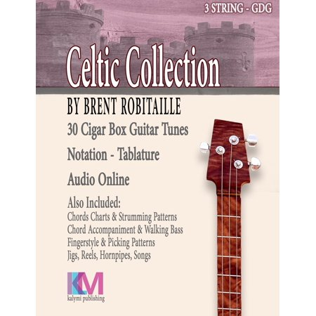 Cigar Box Guitar Celtic Collection : 30 Celtic Tunes for 3 String ...