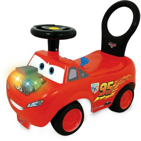 kiddieland disney pixar cars lightning mcqueen light and sound