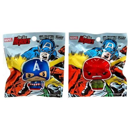Funko Marvel Pint Size Heroes Captain America & Red Skull Vinyl Figure