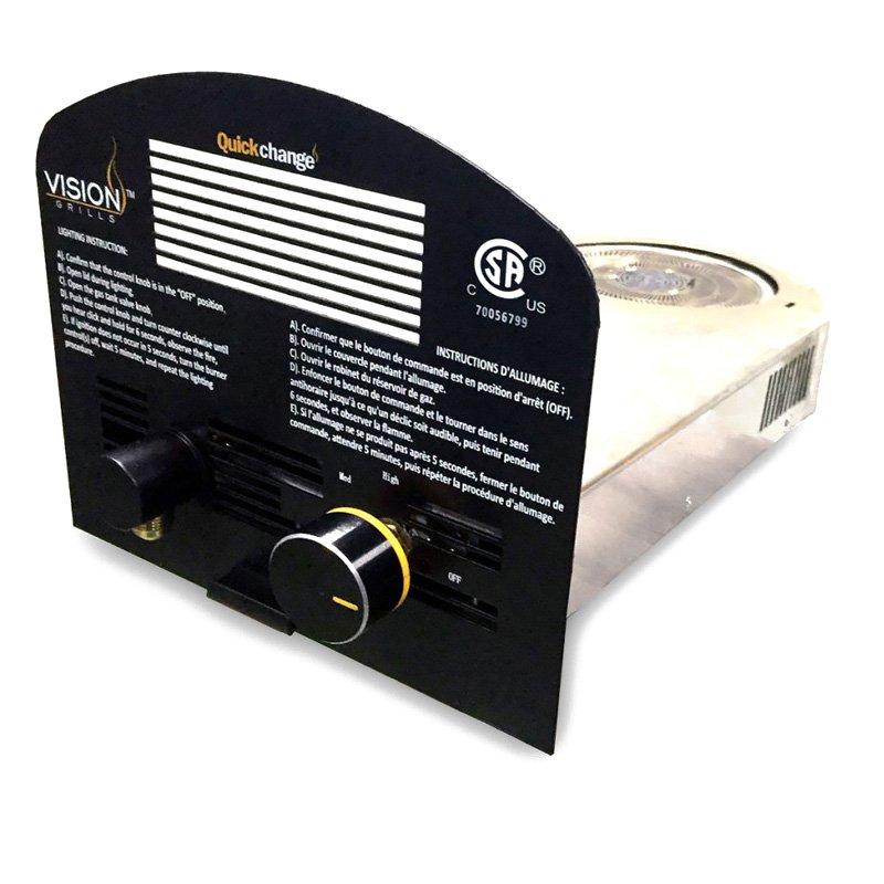 Vision Grills QuickChange Gas Insert