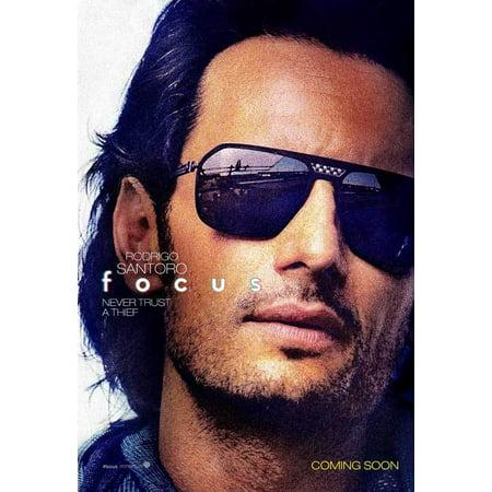Focus (2015) 11x17 Movie Poster - Walmart.com