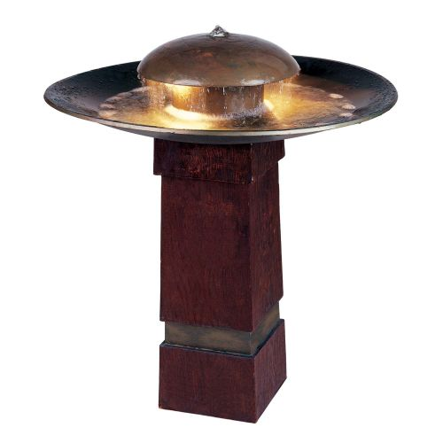 "Kenroy Home 50720 Portland Sound 30"" High Outdoor LED Free Standing Fountain by Fountains"