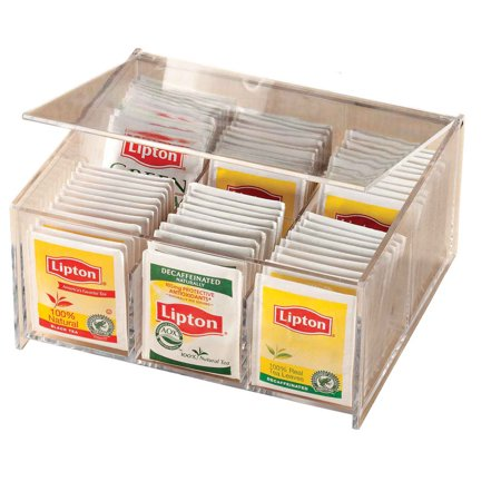 - Acrylic Tea Bag Box