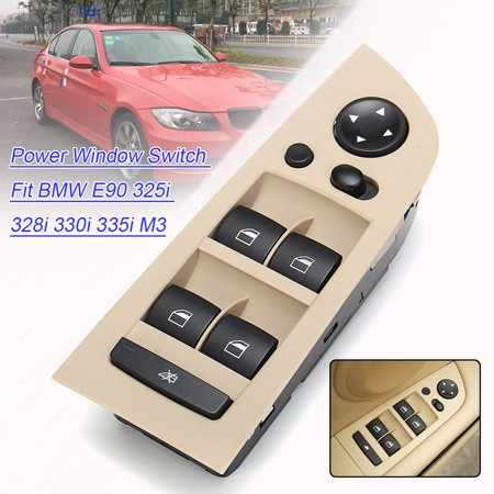 1x Master Power Window Switch, Front Driver Left Power Window Switch Fit BMW E90 325i 328i 330i 335i M3