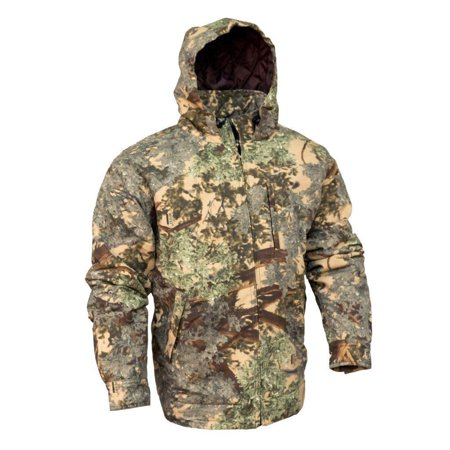King's Camo Classic Cotton Insulated Hooded Ripstop Jacket Desert (Insulated Jacket Coat)