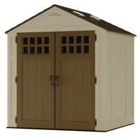 Suncast 6' x 5' Everett Storage Shed with Windows, Outdoor Storage for Power Equipment and Yard Tool