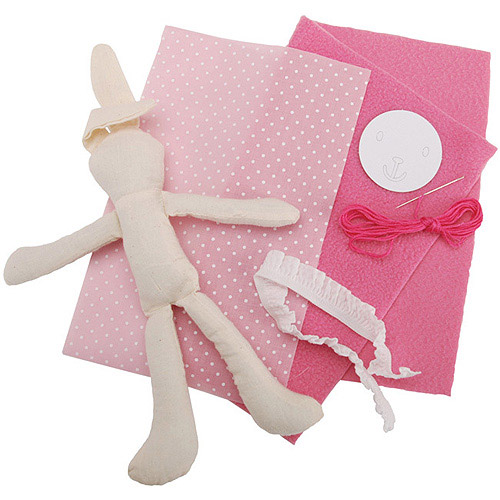 Colorbok Learn To Sew Kit, Dress-A-Bunny