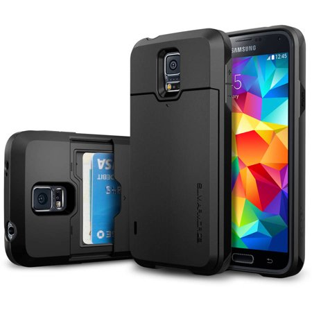 the best attitude 44082 1e583 Spigen Galaxy S5 Slim Armor CS Case - Walmart.com