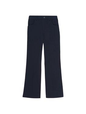 French Toast Girls Plus School Uniform Pull-On Twill Bootcut Pants (Plus)