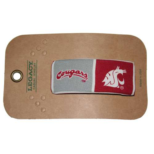 Washington State Cougars Hair Barrette