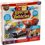 Made By Me Rescue Vehicles Craft Kit, 1 Each