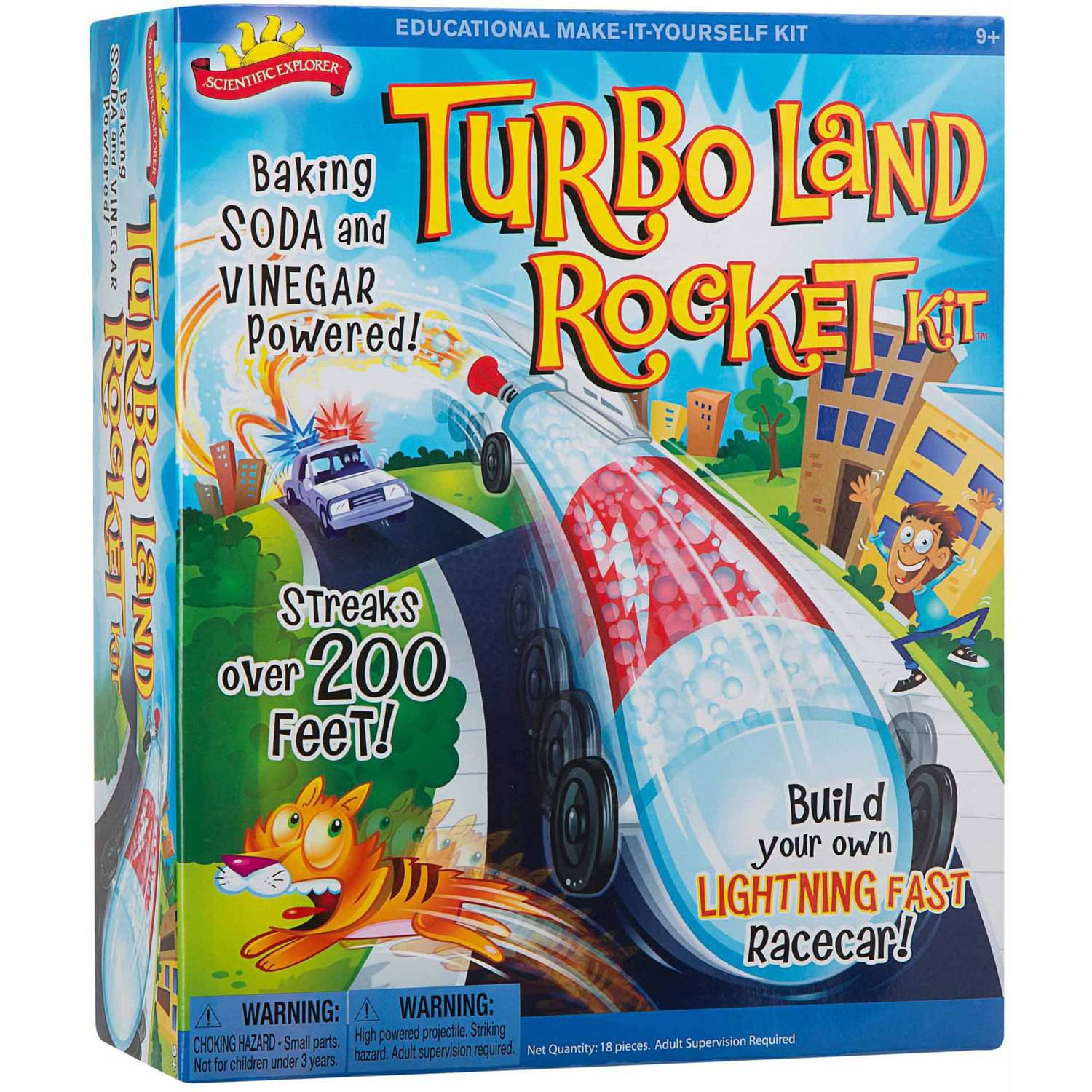 Scientific Explorer Turbo Land Rocket