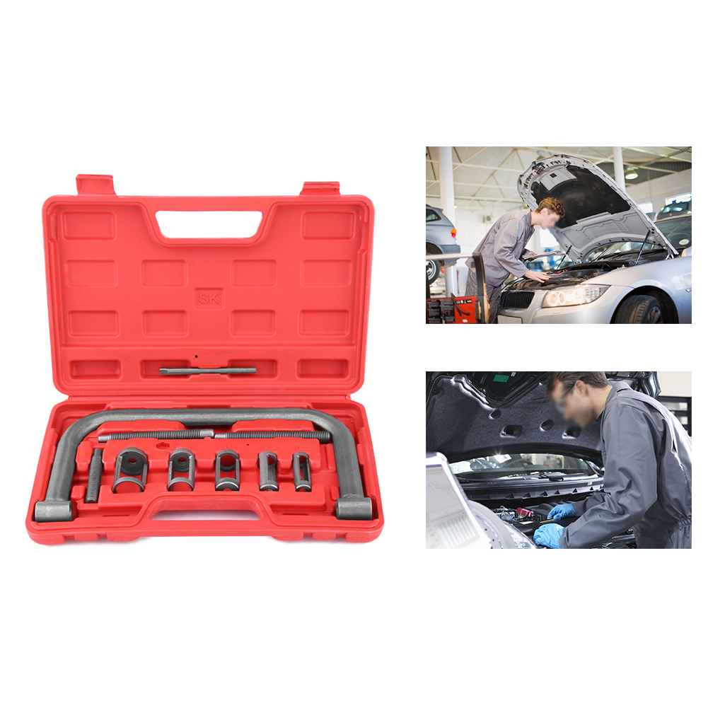 10 Pieces Valve Spring Compressor Kit Removal Installer Tool For Car Van Motorcycle Motors Zerone Valve Spring Compressors