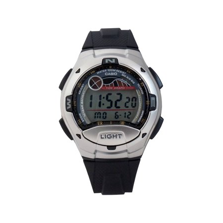Men's Casual Sport Watch, Black Resin Strap (Best Mens Casual Watches)