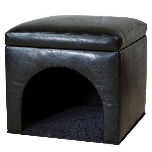 Bonded Leather Pet Bed