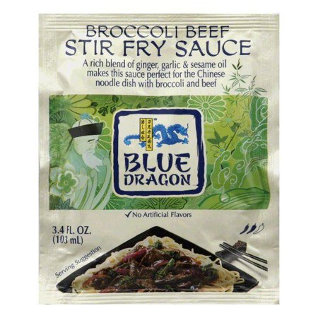 Blue Dragon Broccoli Beef Stir Fry Sauce, 3.4 Oz (Pack of