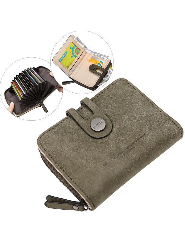 Meigar Women Girls Short Wallet Coin Purse Organizer Pocket Small Credit Card Holder Handbags