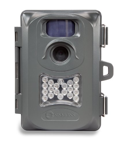 91423 Simmons 6MP Whitetail Cam Grey Case, Night Vision, Clam