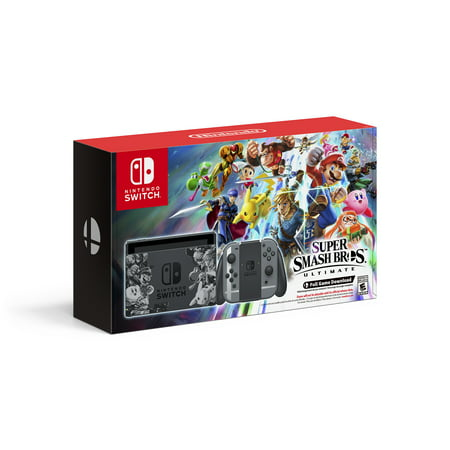 Nintendo Switch Super Smash Bros Ultimate Edition (Deluxe Filtration System)