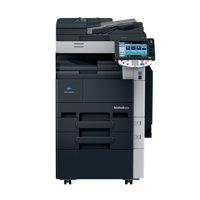 Refurbished Konica Minolta Bizhub 223 A3 Monochrome Laser Multifunction Copier - 22ppm, Copy, Print, Scan, Email, Auto Duplex, Automatic Document Feeder, 2 GB Memory, 250 GB HDD, 2 Trays, Stand