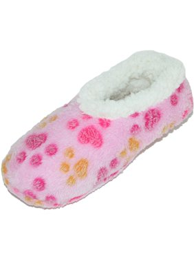 5b99bdf0d12 Product Image Women s Paw Plush Slippers with Sherpa Fleece Lining