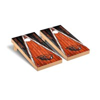 Oregon State Beavers 2' x 4' Weathered Triangle Cornhole Board Tailgate Toss Set