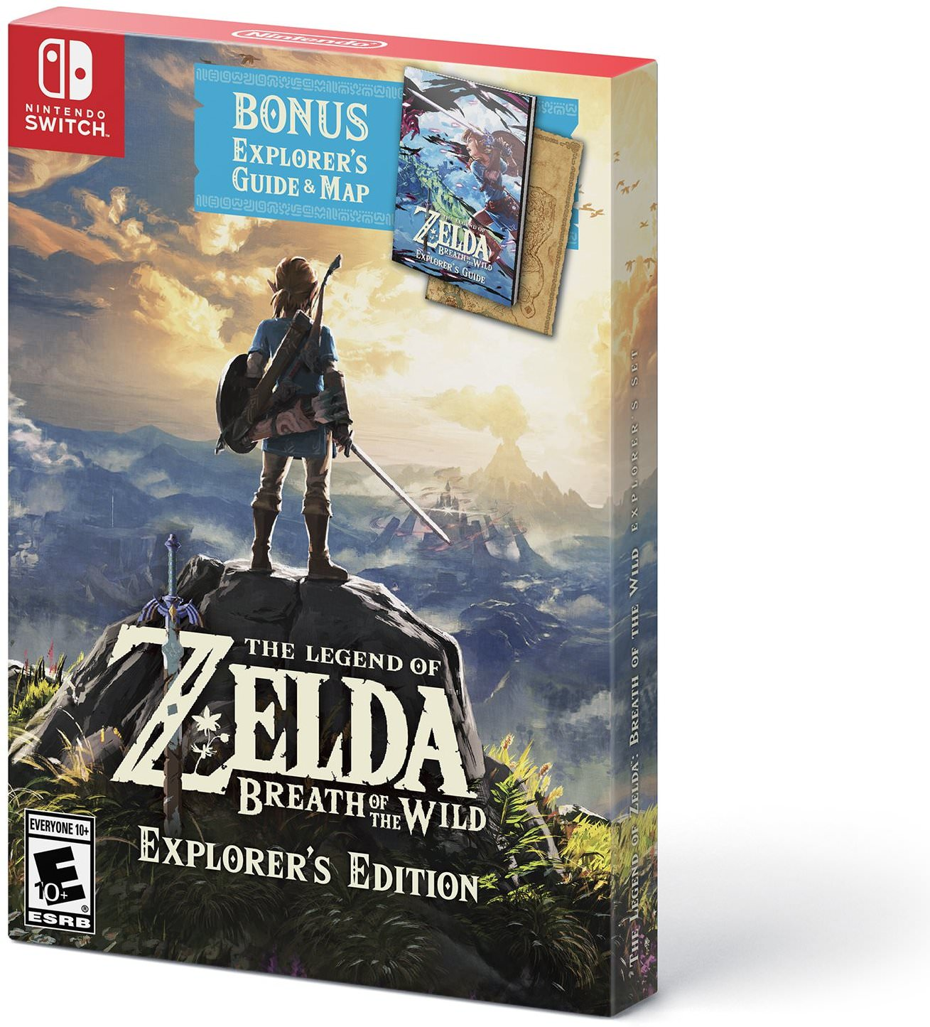 The Legend of Zelda: Breath of the Wild - Explorer's Edition - Nintendo Switch