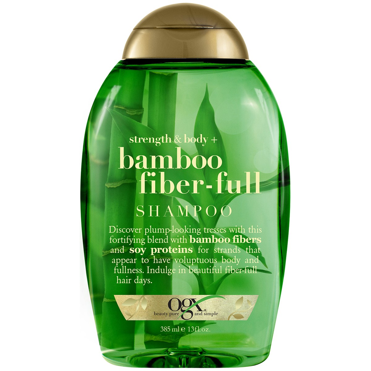 OGX Strength & Body Bamboo Fiber-Full Shampoo, 13 Oz