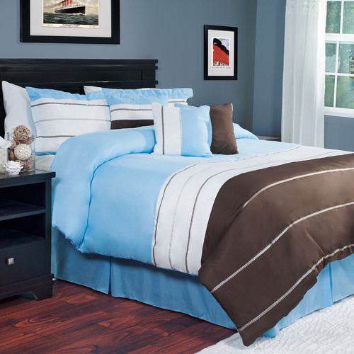 Somerset Home 7-Piece Avery Bedding Comforter Set