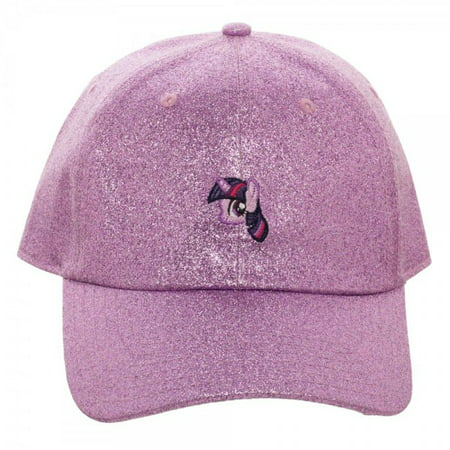 Hat - My Little Pony - Twilight Sparkle Glitter Fabric Dad New - My Little Pony Hats